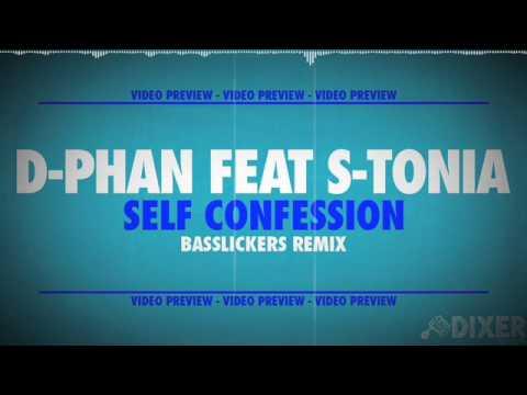D-PHAN feat S-TONIA - Self Confession (Basslickers remix) - DIX006 - PREVIEW