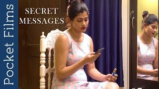 Wife discovers her husband's secret affair | Hindi Short Film - Secret messages