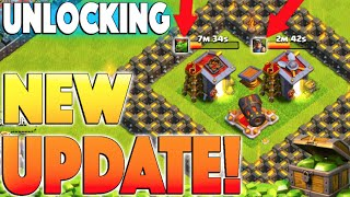 UNLOCKING NEW COC UPDATE! - Clash of Clans - Gemming New Update Troops / Buildings To Max!