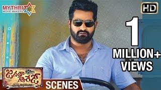Jr NTR Powerful Fight   Warning to Unni Mukundan   Janatha Garage Telugu Movie Scenes   Samantha