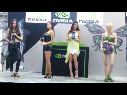 지스타2013 엔비디아 모델 4인방 G STAR 2013 NVIDIA Girl