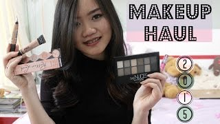 Makeup Haul 2015💋 (Maybelline, Benefit, H&M, dll) | Bahasa Indonesia