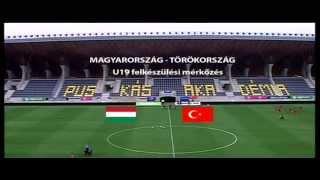 U19 Magyarország - Törökország 5-2