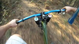 Fanny Patrol Riding Downhill Mountain Bike At Robin Woods Derby s5
