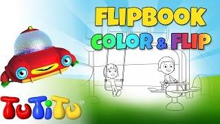 TuTiTu Toys - Make Your Own Animation | Playground | Color & Flip DIY
