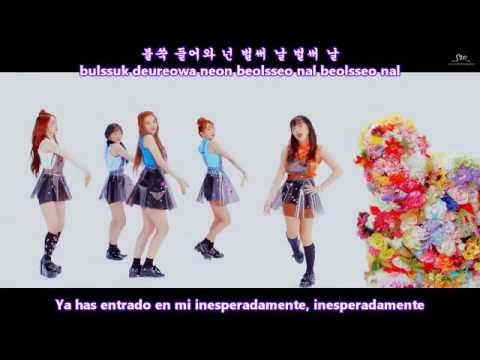 Red Velvet (레드벨벳) - ROOKIE MV [Sub Español + Hangul + Rom] HD