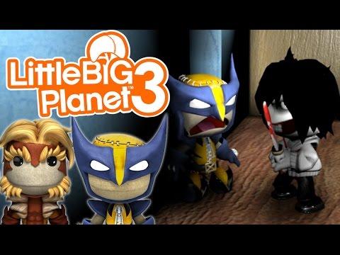 GO TO SLEEP! | Little Big Planet 3 Multiplayer (42) Jeff The Killer