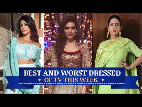 Xxx Mp4 Hina Khan Karishma Tanna Krystle Dsouza TV S Best And Worst Dressed Of The Week 3gp Sex