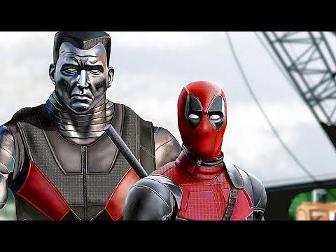 Deadpool FULL MOVIE All Cutscenes Funny Moments