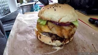 Fresh Handmade Burger. Warsaw Street Food, Poland