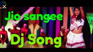 JIO SANGEE JIO RE (FULL DJ SONG ) BY ZUBEEN DJ SONG