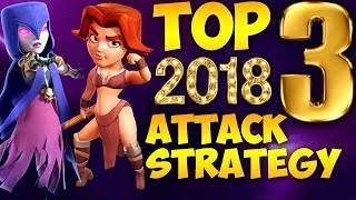 TOP 3 TH9 BEST WAR ATTACK STRATEGY 2018 (Updated) | 3 star any base | Clash of Clans