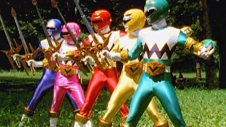 Lights of Orion First Battle (Power Rangers Lost Galaxy)