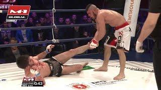 Raul Tutarauli vs. Artur Aliev, M-1 Challenge 55, Georgia | Full fight - FREE