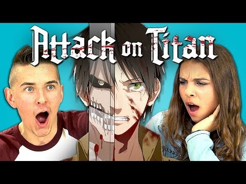 TEENS REACT TO ATTACK ON TITAN