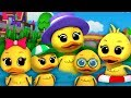 Download Lima bebek kecil lagu sajak anak-anak lagu anak-anak baby rhymes five little ducks