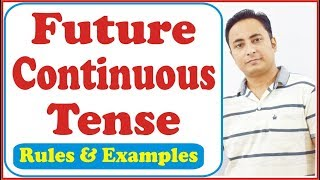 Future Continuous Tense | Will be + Verb +ing | Learn English through Hindi