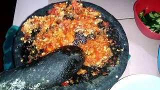 Pepes Tahu Pedas+jamur - Indonesian Food