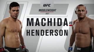 EA SPORTS UFC 2: Live event: fantasy matches- Dos Anjos vs Mcgreggor