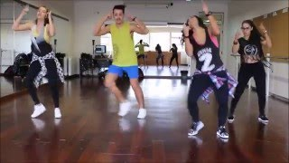 Yandel - No Sales de Mi Mente ft. Nicky Jam /// Choreography by Patrícia Abreu /// Zumba Fitness