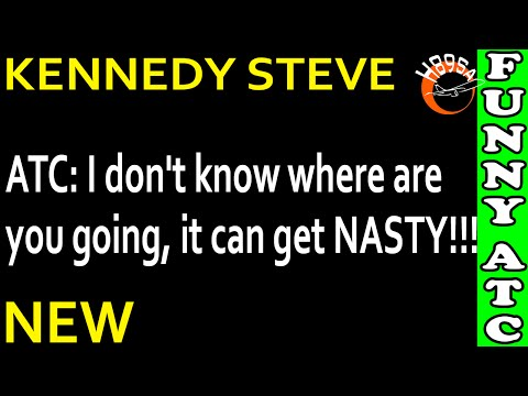 watch FUNNY ATC KENNEDY STEVE: Well, you're not so heavy!!!