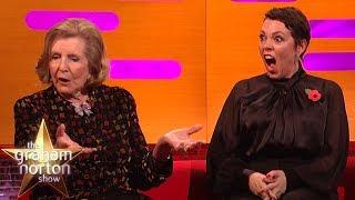 Olivia Colman SHOCKED By Lady Anne Glenconner's Honeymoon Story  | The Graham Norton Show