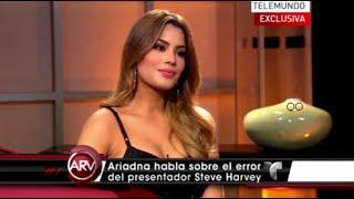 Ariadna Gutierrez en Entrevista Exclusiva para AL ROJO VIVO - Telemundo