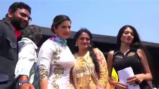 Sunny Leoan Dance And Sapna Choudhary Competiton