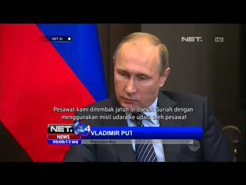 Pesawat Tempur Rusia Ditembak Jatuh Turki - NET24