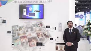 Panasonic at #GITEX2018 - #VIDEO_INTERCOM
