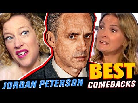 JORDAN PETERSON BEST COMEBACKS