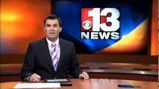 CBS Channel 13 News - Capitol Mini Storage arrests with Stealth Monitoring, Charleston WV