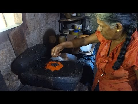 Fish curry Sri Lankan recipe // Spicy and sour fish // Authentic video from a Sri Lankan village
