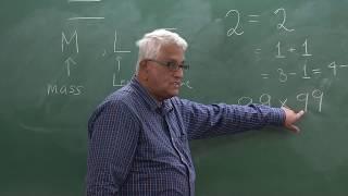 Prof. Siddhartha Sen — Joy of Mathematics — Lecture 1