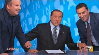 Berlusconi: 'Forza Italia arriverà al 30 per cento, ci scommetto una pizza'