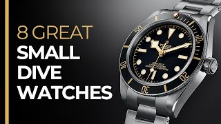 Top 8 SMALL Dive Watches For ALL Budgets!