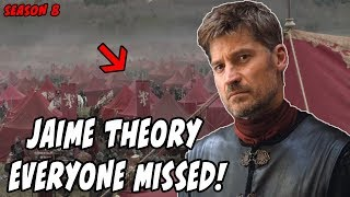 The Jaime Theory EVERYONE Missed! Game Of Thrones Season 8