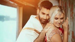 Lebanese couple RAMZI+REMI's dream Kerala wedding highlights