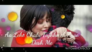 Aja tujhko leke chalu pariyo ke desh mee cute song of $vinidhi chauhan