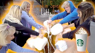WE MADE THE WORLD'S BIGGEST PUMPKIN SPICE LATTE! **World Record**