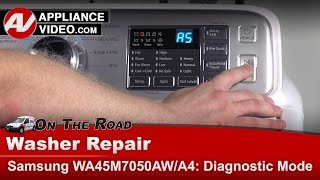 Samsung washer - How to enter into Diagnostic Mode - Error Codes - Troubleshooting