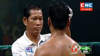 Khmer Boxing ធឿន ធី ️ប៉ះ  សឿន ឆ្នើម , Khmer Boxing, SeaTv Boxing
