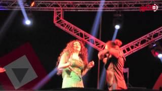 اتفرج| مروة تقدم عرض راقص بحفلتها في دريم بارك