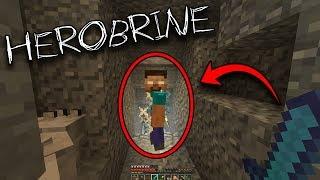 Herobrine visited my Minecraft World... AND I ATTACKED HIM! (Minecraft Herobrine Sighting 2018)