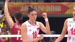 WWCH 2018 - Player of the Round (R3) Tijana Bošković
