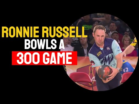 Ronnie Russell 300 game PBA World