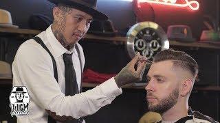 Skin Fade and Slickback | Liem Barber Shop's Collection