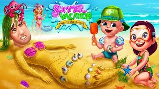 Fun Care Game - Summer Vacation - Fun At The Beach Party Game For Kids By TabTale