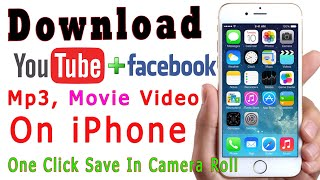 How to Download Videos On iPhone Save In Camera Roll free