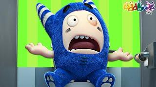 Oddbods   Toilet Door   Funny Cartoons for Children